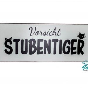 lafinesse-blechschild-vorsicht-stubentiger-30-×-13-cm
